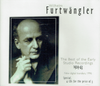Wilhelm Furtwangler - The Best studio recordings, 1929-43  (4-Music & Arts 954)