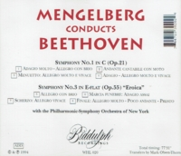 William Mengelberg - Beethoven (NYPO)     (Biddulph WHL 020)