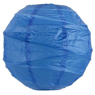 10inch Free Style Paper Lantern Blue