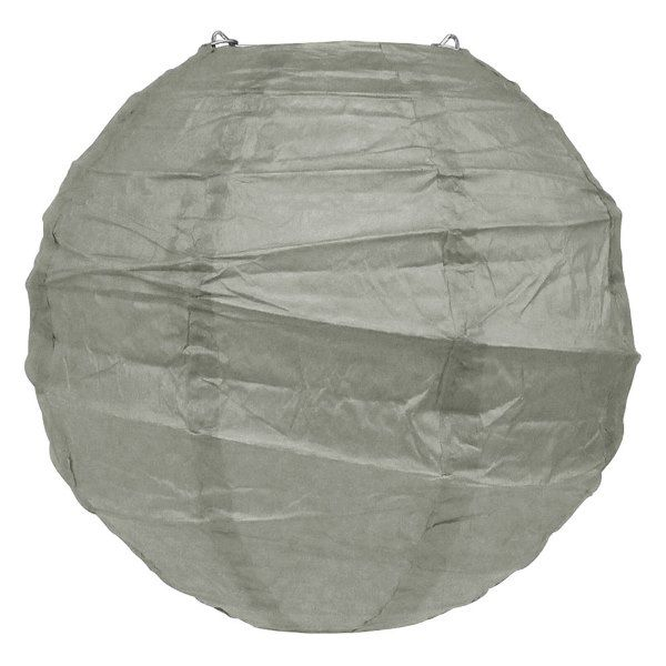 10inch Free Style Paper Lantern Dove Grey