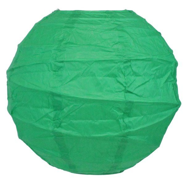 10inch Free Style Paper Lantern Emerald