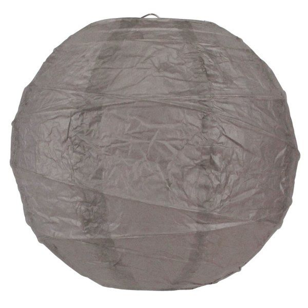 10inch Free Style Paper Lantern Grey
