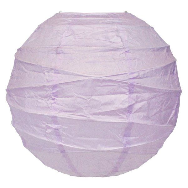 10inch Free Style Paper Lantern Lilac
