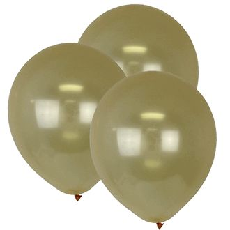 "12"" ECO Latex Balloons 10pcs Champagne"