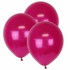 "12"" ECO Latex Balloons 10pcs Fuchsia"
