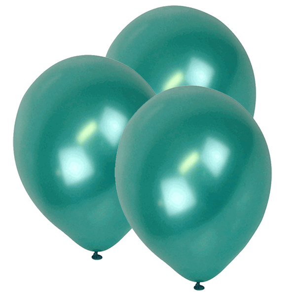"12"" ECO Latex Balloons 10pcs Jade Green"