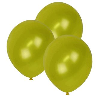 "12"" ECO Latex Balloons 10pcs Lemon Yellow"