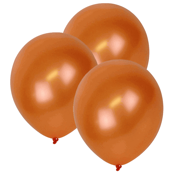 "12"" ECO Latex Balloons 10pcs Orange"