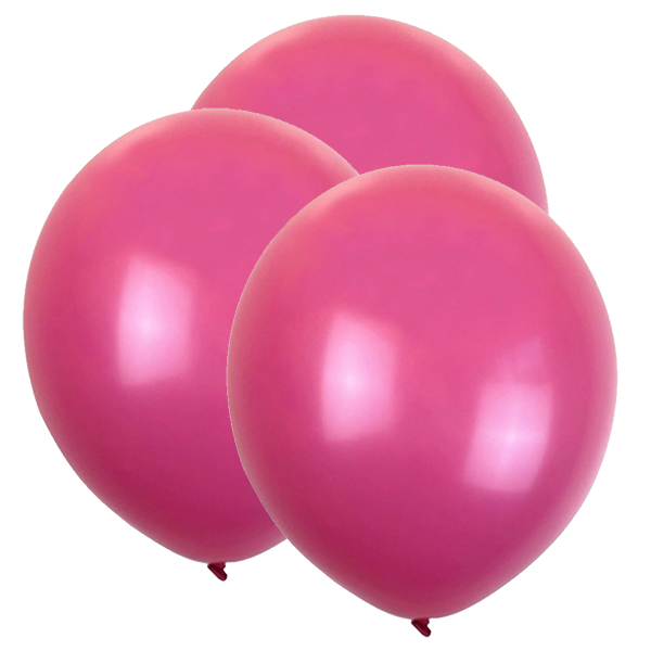 "12"" Latex Balloons 100pcs Flamingo Pink"