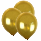 "12"" Latex Balloons 100pcs Gold"