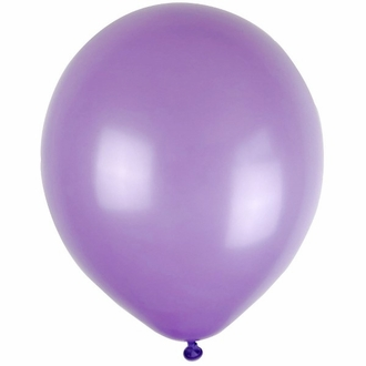 "12"" Latex Balloons 100pcs Lavender"