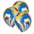 "12"" Latex Balloons 100pcs Marble Multicolor"