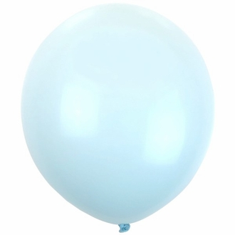 "12"" Latex Balloons 100pcs Sky Blue"