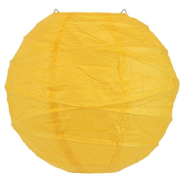 12inch Free Style Paper Lantern Buttercup