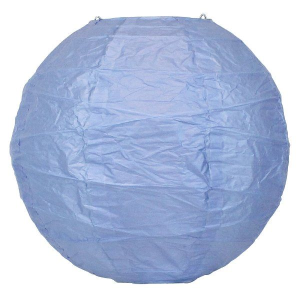 12inch Free Style Paper Lantern Periwinkle