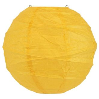 14inch Free Style Paper Lantern Buttercup