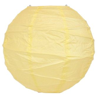16inch Free Style Paper Lantern Ivory