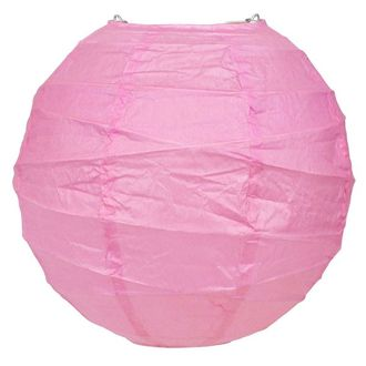 16inch Free Style Paper Lantern Light Pink