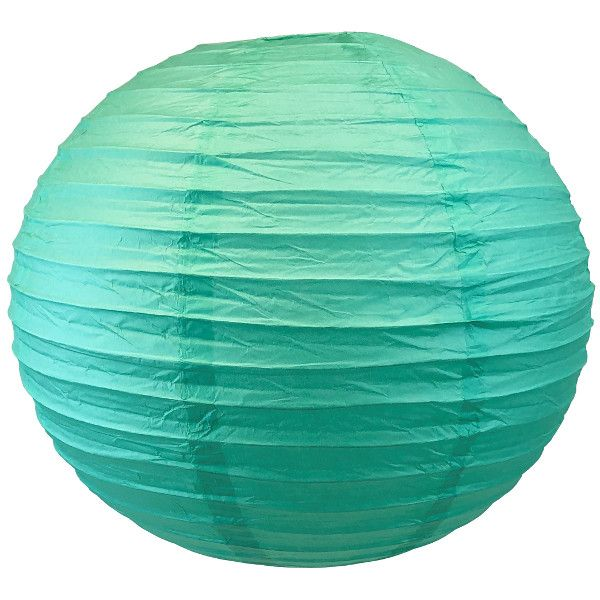 "18"" Fiji Green Chinese Japanese Paper Lanterns"