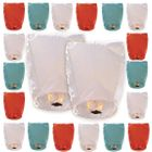 20pcs ECO Wirefree Mini Eclipse Sky Lantern 4th of July Freedom Collection