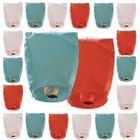 20pcs Mini Eclipse Sky Lantern Red White & Blue Patriotic