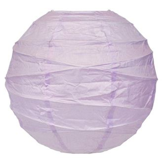 24inch Free Style Paper Lantern Lilac
