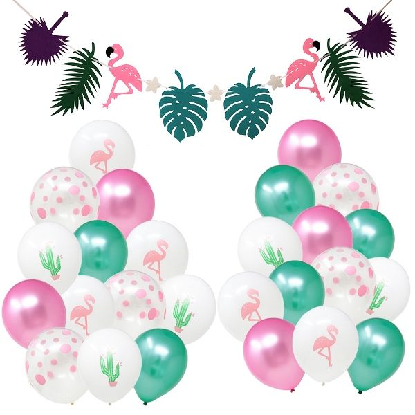 26pcs Exotic Tropics Party Decoration Kit