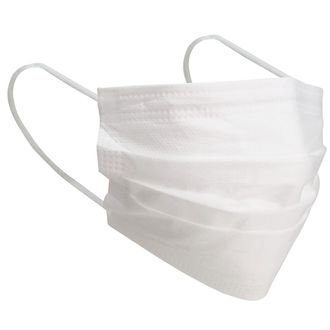 3 Layer Disposable Face Mask White 10pcs