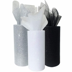 3pc Glitter Tulle Fabric Roll 25-Yards Length x 6-Inch Width (Color: New Years 2) - Premier