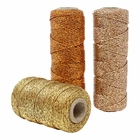 3pcs Assorted Eco Metallic Bakers Twine 55yd 11Ply (Assorted #2) - Premier