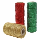 3pcs Christmas Assorted Eco Metallic Bakers Twine 55-Yards 11Ply (Assorted #6) - Premier