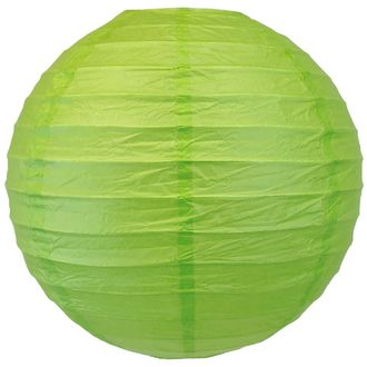 "8"" Green Apple Chinese Japanese Paper Lantern"