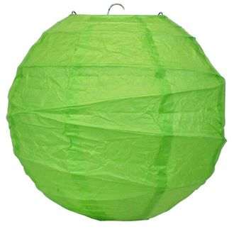8inch Free Style Paper Lantern Grass