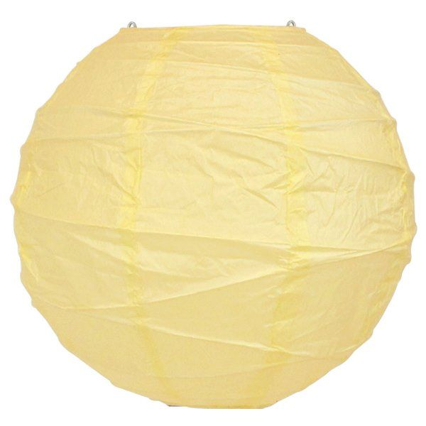 8inch Free Style Paper Lantern Ivory