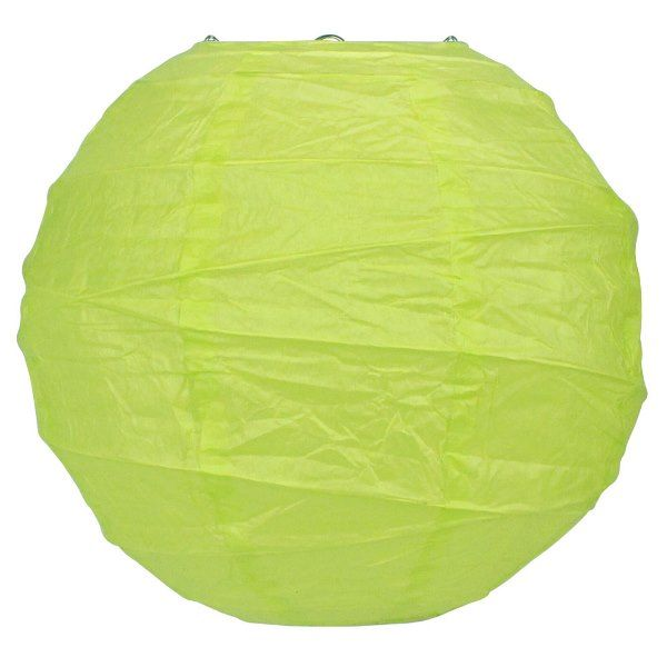 8inch Free Style Paper Lantern Light Green