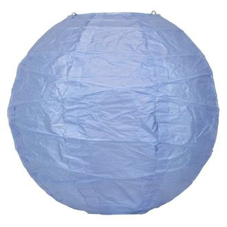 8inch Free Style Paper Lantern Periwinkle