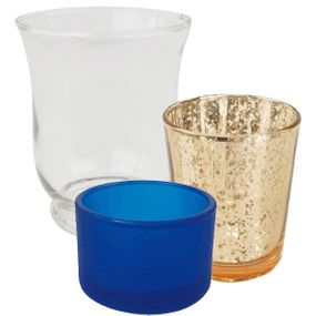 All Glass Votive Candle Holders