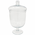 Apothecary Glass Jar Arjowan 10in