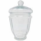 Apothecary Glass Jar Large Caraway 9in