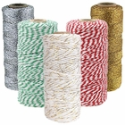 Assorted Christmas Themed Bakers Twine 11ply/12ply 55-yards/110-yards (5pc) - Premier