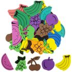 Assorted Foam Craft Sticker Fruit 35pcs