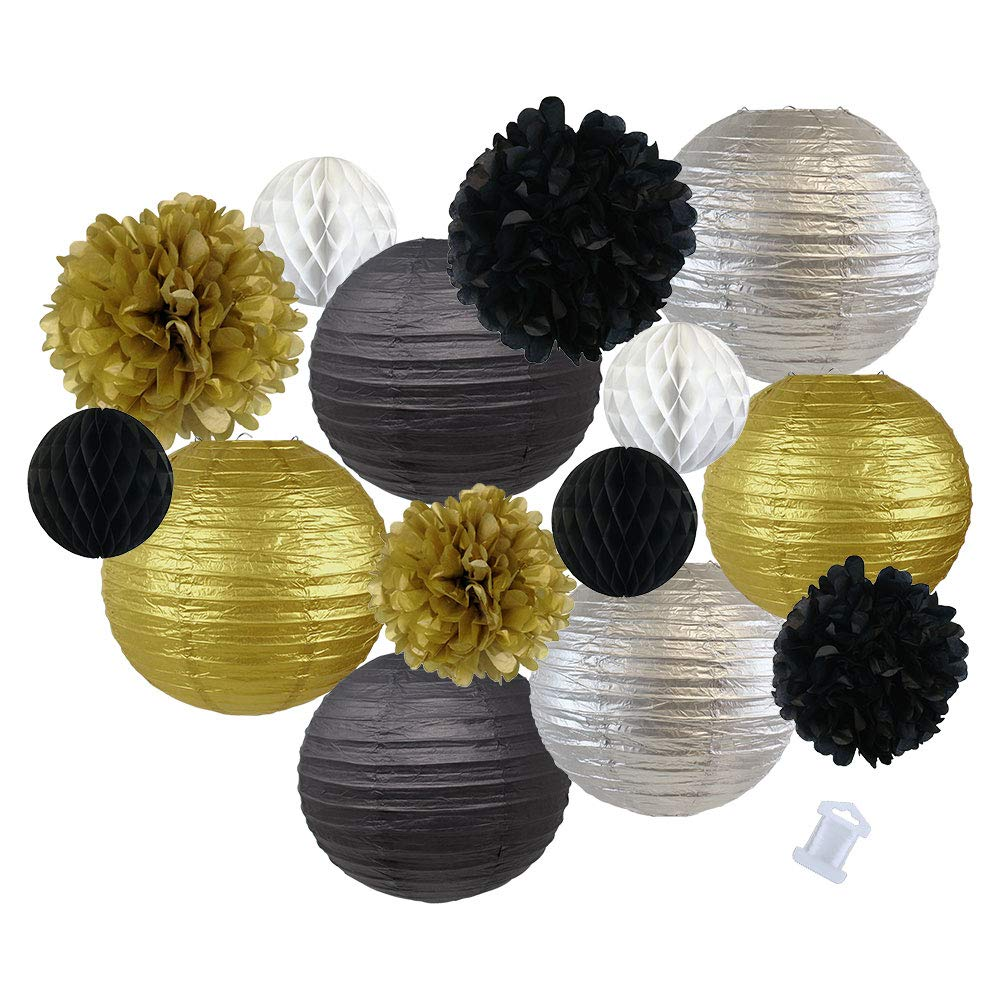 Assorted New Years Eve Party Pack Decorations (Color: New Year Party) - Premier