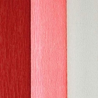 Assorted Premium Crepe Paper Rolls - 8ft Length/20in Width (3pcs, Color: Valentines Day) - Premier