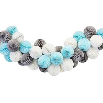 Blue Moon Honeycomb Ball Decorating Kit