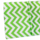 CLEARANCE Chevron Table Runner Grass Green