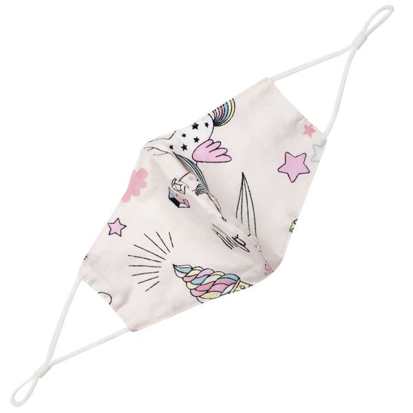 Children's Cloth Face Mask Magical Unicorns