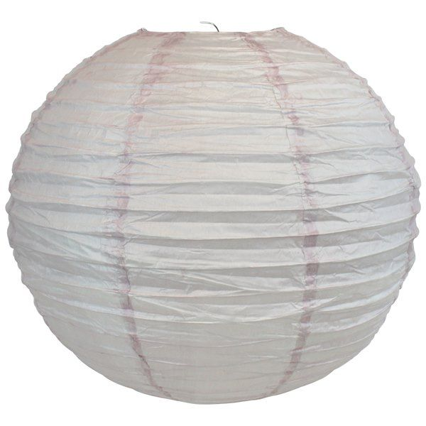 CLEARANCE 16inch Grey Lilac Paper Lantern