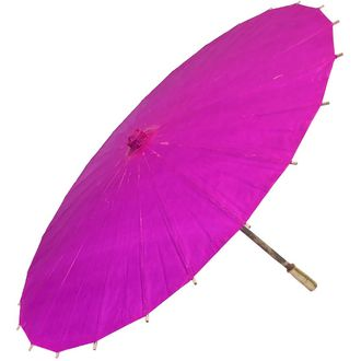 "CLEARANCE 34"" Paper Parasol Magenta"