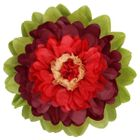 CLEARANCE Tissue Paper Flower 24in Maroon Red
