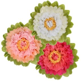 Clearance Tissue Paper Flowers